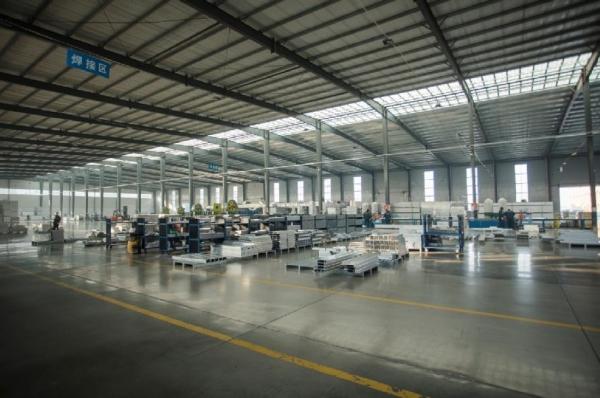 铝模板生产车间